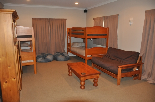 Two Double Bunks